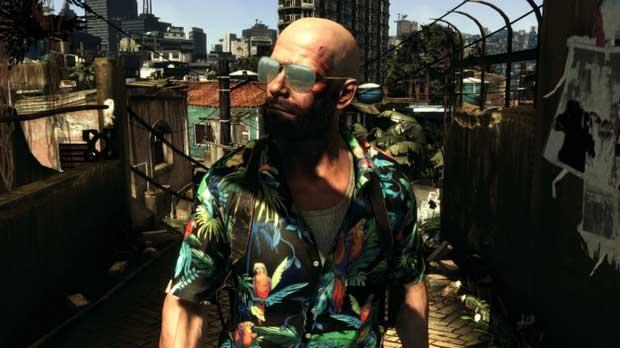 Max Payne e sua estilosa camisa havaiana (Foto: Divulgação)