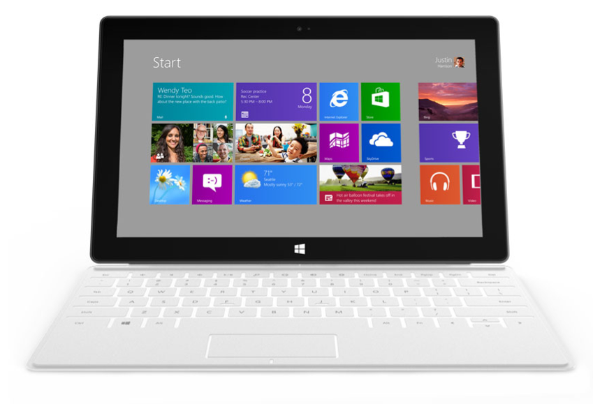 Surface, o novo tablet com Windows 8 da Microsoft (Foto: Divulgação)