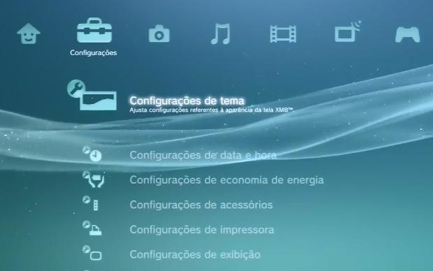 Configurações de tema (Foto: Reprodução)