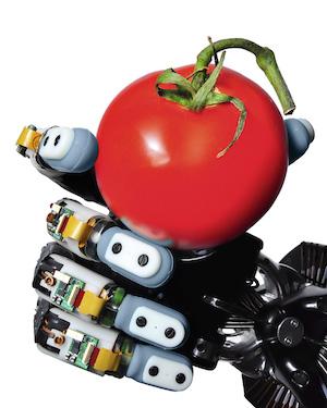 Robô pode ter a mão mais sensível que um ser humano (Foto: Reprodução/Engadget)