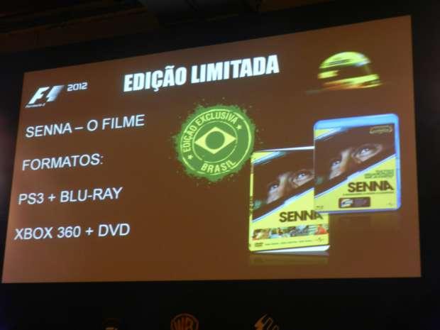 Informações sobre o conteúdo extra de F1 2012, exclusivo para o Brasil. (Foto: Alexandre Silva/TechTudo)
