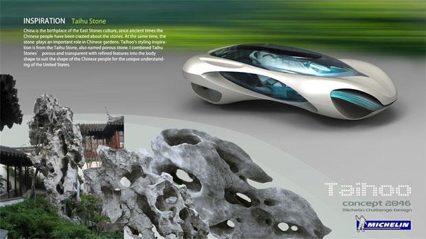 Imagem compara o Taihoo com a pedra que inspirou o modelo (Foto: Reprodução)