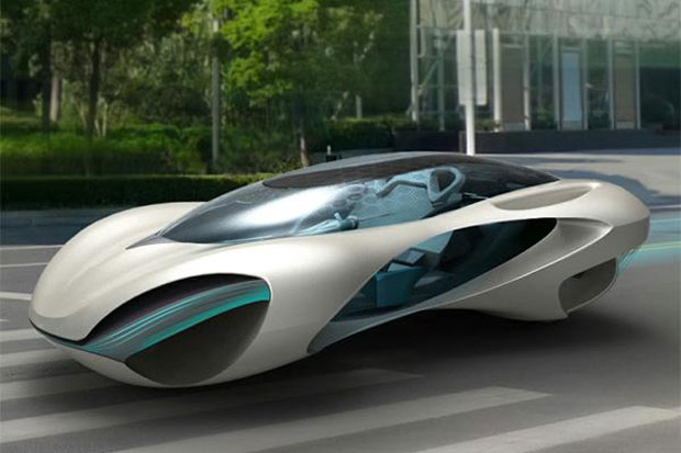 Carro seria destinado a jovens casais chineses (Foto: Reprodução)