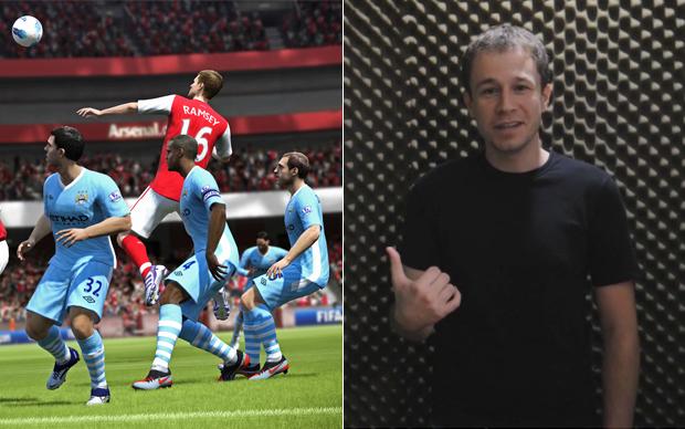Tigo Leifert será o locutor de FIFA 13 (Foto: Reprodução)