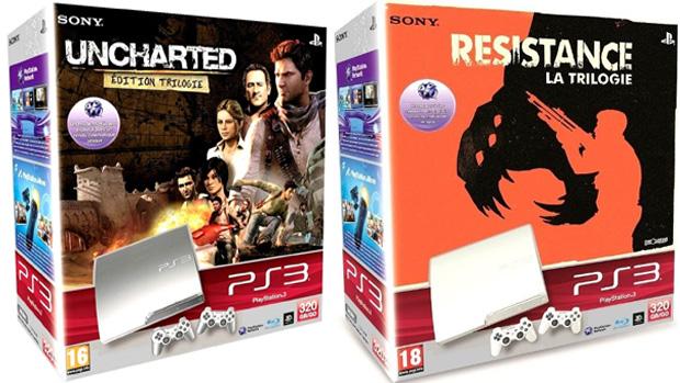 Trilogias Resistance e Uncharted ganharão pacotes com PlayStation 3 (Foto: Examiner)