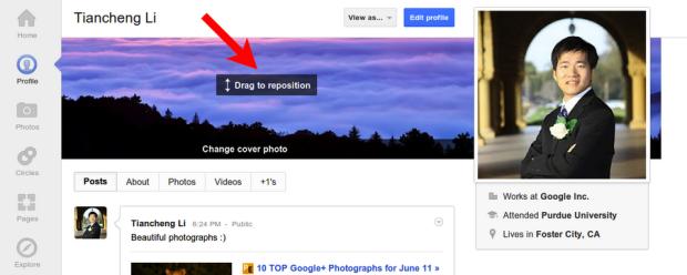 Novidade permite que o usuário escolha a parte da imagem que ficará visível (Foto: Reprodução/Sara McKinley)