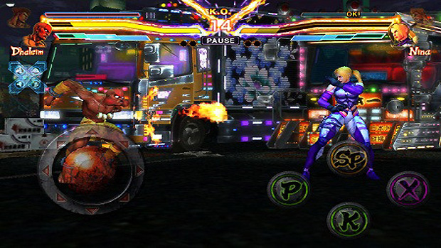 Street Fighter X Tekken Mobile (Foto: Andriasang)