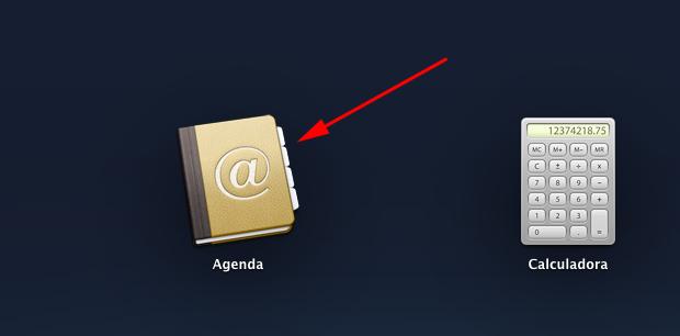 Abra o aplicativo Agenda (Foto: Reprodução/Hugo Carvalho)