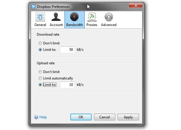 Limitando a velocidade de download e upload (Foto: Reprodução/Helito Bijora)