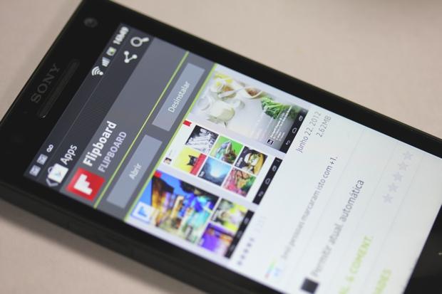 Flipboard para Android (Foto: TechTudo)