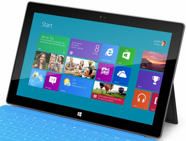 O Windows RT foi projetado para rodar nos novos tablets ARM da Microsoft (Foto Divulgação)