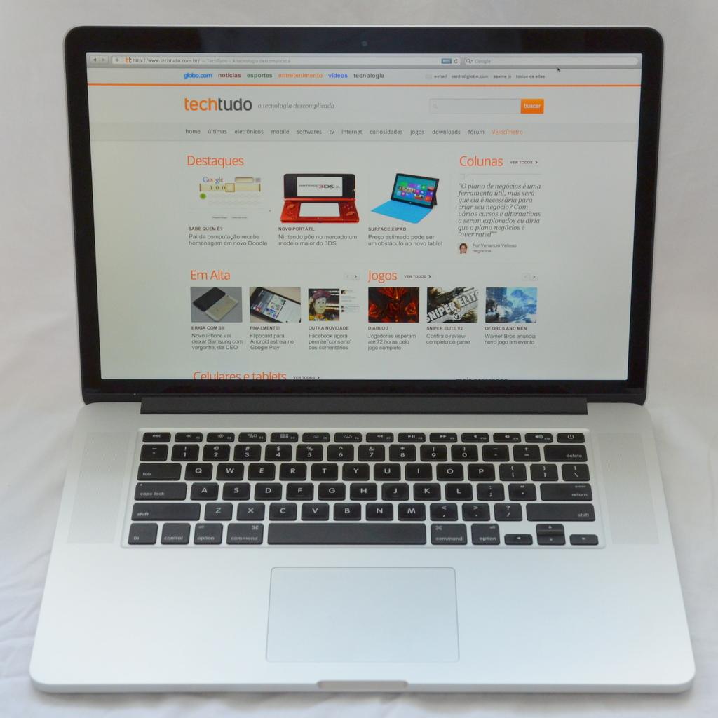Novo Macbook Pro com Retina Display