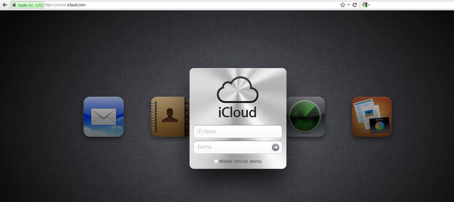 Como criar uma conta no iCloud (Foto: Reprodução/Gabriela Viana)
