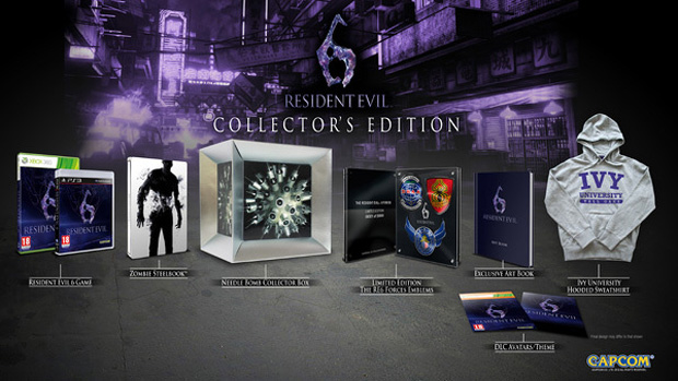 Resident Evil 6 Collector's Edition (Foto: Eurogamer)