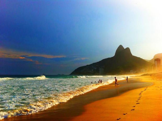 Orla do Rio de Janeiro  (Foto: Ticiana Porto)