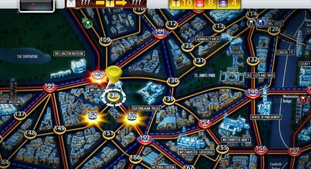 Scotland Yard é uma versão do jogo de tabuleiro (Foto: Divulgação) (Foto: Scotland Yard é uma versão do jogo de tabuleiro (Foto: Divulgação))