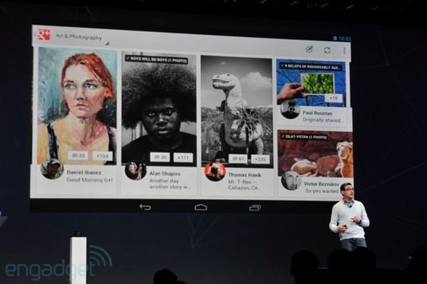 Google+ ganhou, finalmente, um aplicativo para tablets (Foto: Reprodução)