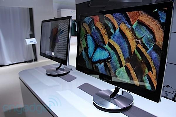 Samsung apesentou sua nova televisão superpotente (Foto: Engadget)