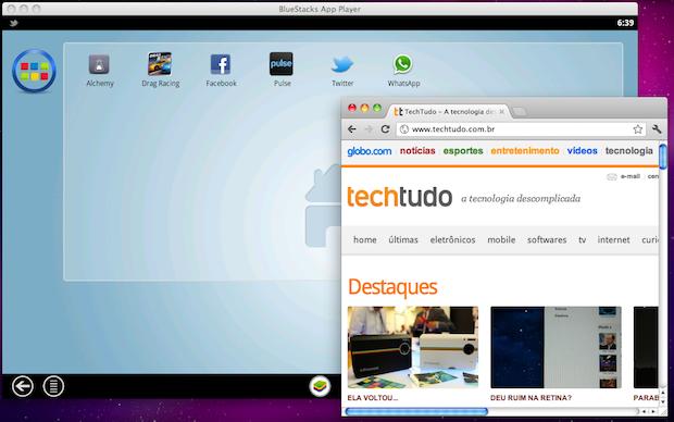 BlueStacks App Player (Foto: Reprodução/TechTudo)