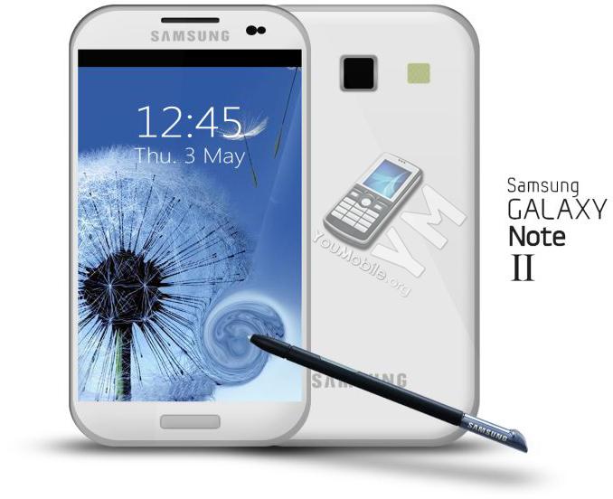 Galaxy Note 2 chega ao mercado em outubro com tela de 5,5 polegadas (Foto: Reprodução)