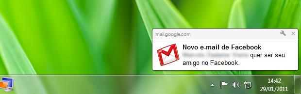 Notificações do Chrome (Foto: Reprodução/Helito Bijora)