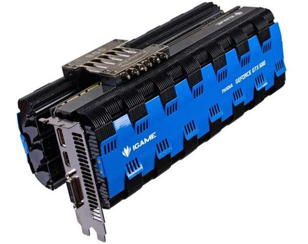 Placa poderosa da Colorful inova ao dispensar o uso de coolers (Foto: Divulgação)