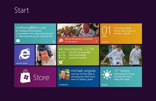 Microsoft explica por quê o botão Iniciar deu lugar a tela inicial no Windows 8 (Foto: Reprodução)