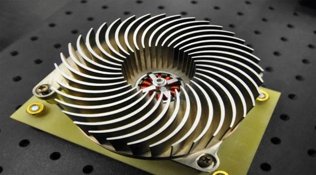Basicamente, Sandia criou um dissipador giratório que é muito mais eficiente que um cooler normal (Foto: Divulgação)
