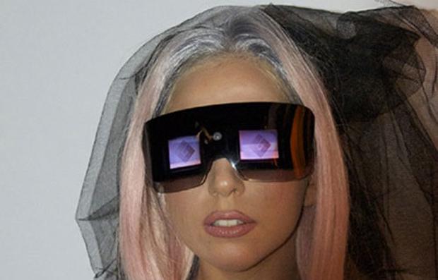 Polaroid Lady Gaga (Foto: Divulgação)