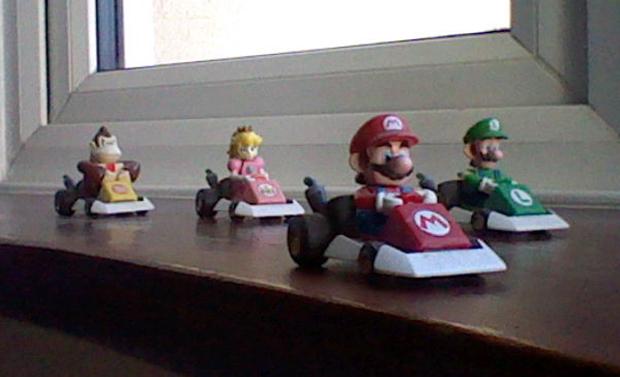 Apesar de não ter boa revolução, o 3DS pode registrar fotos criativas (Foto: Reprodução)