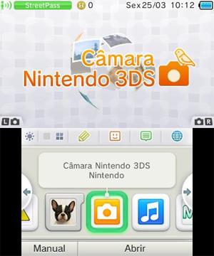 Menu do 3DS (Foto: Reprodução)