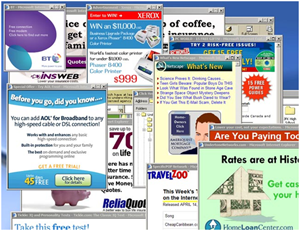 Anúncios pop-up (Foto: Reprodução)