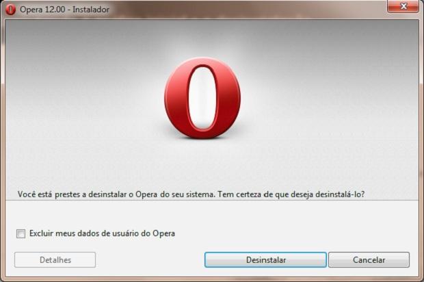 Alguns programas podem abrir o próprio desinstalador nessa fase (Foto: Reprodução/Júlio Monteiro)