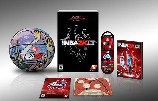 Edição de colecionador de NBA 2K13 (Foto: Divulgação)