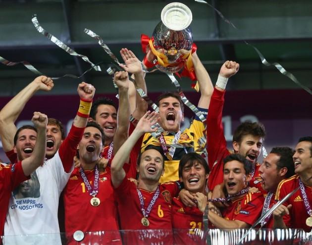 Euro conquistada pela Espanha fez sucesso no Twitter (Foto: Divulgação)