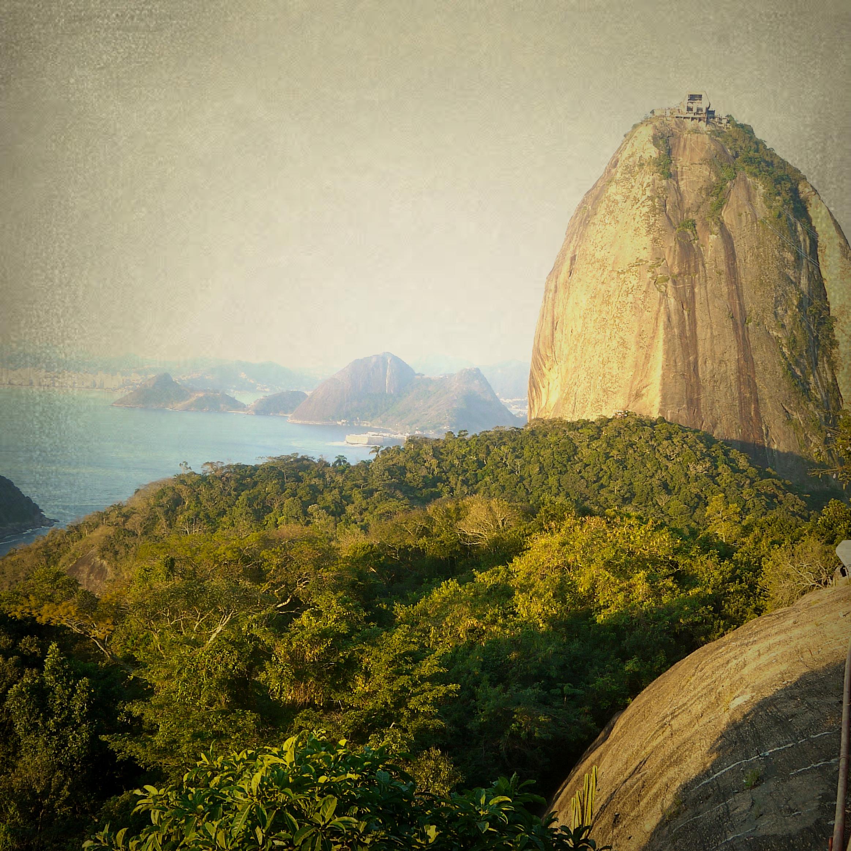 Morro do Pão de Açúcar (Foto: Ticiane Porto)