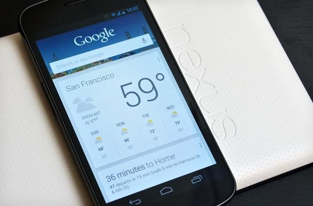 Google Now já está funcionando em aparelhos com Android ICS (Foto: Reprodução)