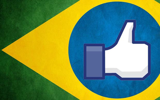 Brasil tem o maior crescimento de usuários no Facebook em apenas 6 meses: 45,55% (Foto: Reprodução)