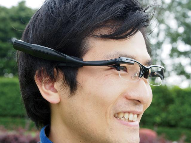 Óculos da Olympus será semelhante ao Google Glass (Foto: Reprodução/The Verge)