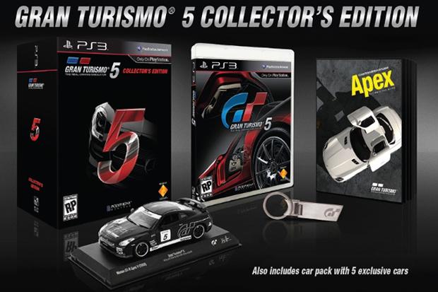 Edição de Colecionador de Gran Turismo 5 (Foto: Divulgação)