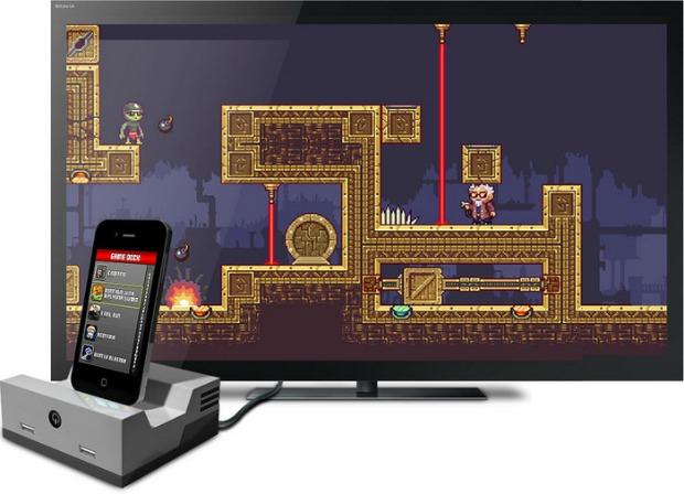 GameDock transforma iPhone em videogame das antigas (Foto: Divulgação)