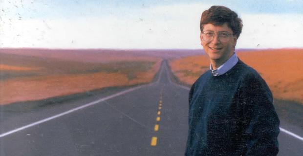 Bill Gates, em 1995.