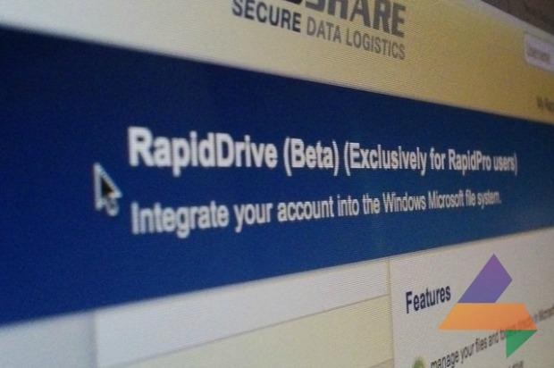 RapidDrive está disponível em fase beta (Foto: Reprodução)