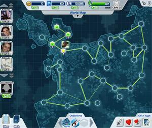 O mapa do game (Foto: Reprodução) (Foto: O mapa do game (Foto: Reprodução))