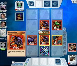Arrume as cartas e aperte BAM (Foto: Reprodução)