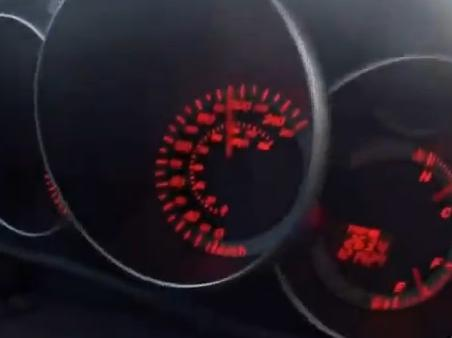 Velocímetro mostra a velocidade que o motorista dirigia (Foto: Reprodução)