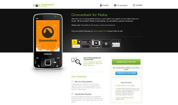 Grooveshark (Foto: Reprodução)