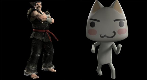 Heihachi e Toro estão no game de luta da Sony (Foto: Divulgação)