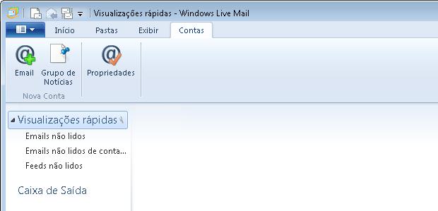 Adicionando uma nova conta no Windows Mail Live (Foto: Reprodução/Edivaldo Brito)