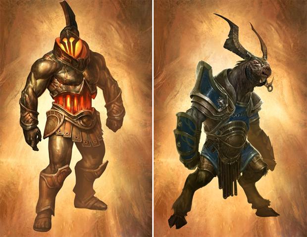 Inimigos de God of War: Ascension (Foto: Divulgação)